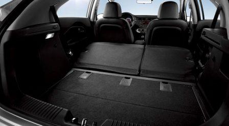 Снимка на багажника на KIA RIO седан