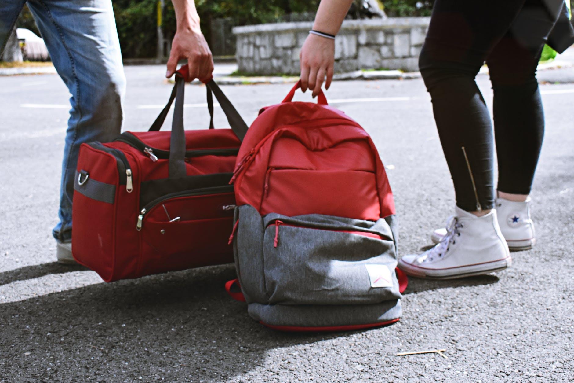 багаж за пътуване с автомобил