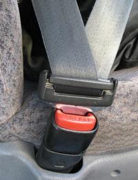 Снимка на правилно поставен предпазен колан